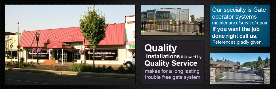 Guardian Gate Controls - Gate Installers in Tacoma